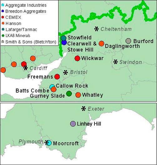 uk region map
